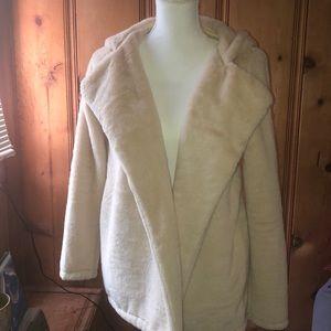 Sandra Faux fur coat
